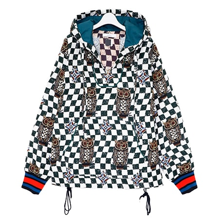 FACETASM(ファセッタズム) 19AW MEXICAN OWL HOODIE