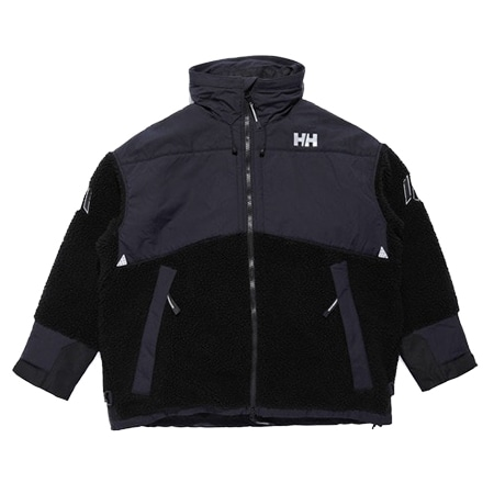 HELLY HANSEN(ヘリーハンセン)×JohnUNDERCOVER(ジョンアンダーカバー)Ocean FIBERPILE Thermo Jacket BLACK