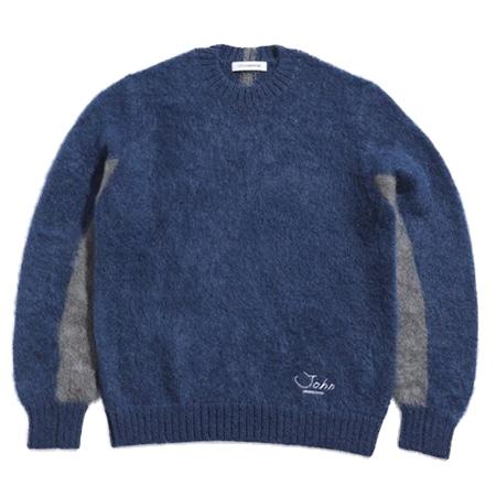 JohnUNDERCOVER(ジョンアンダーカバー) ニット セーター JUV9902 ブルー