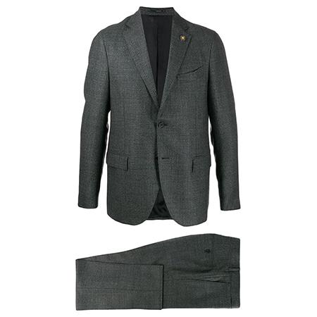 LARDINI(ラルディーニ)ツーピーススーツ グレー