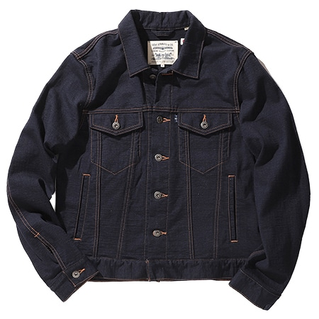 LEVI'S(R) MADE & CRAFTED(R) × LOOPWHEELER / BOXY TYPE ? トラッカージャケット