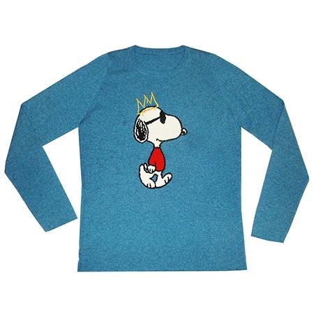 lucien pellat-finet(ルシアン ペラフィネ)×PEANUTS(ピーナッツ) スヌーピー Cashmere Sweater