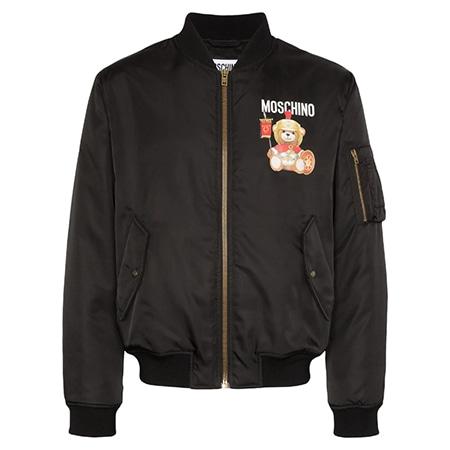 Moschino(モスキーノ)テディベア ボンバージャケット