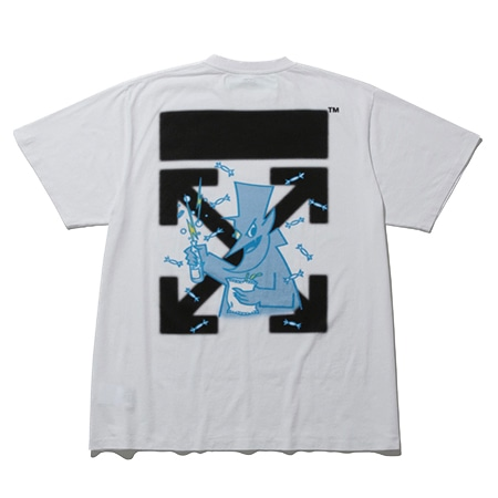 "OFF-WHITE c/o FRAGMENT ""CEREAL"" T-SHIRTS(オフホワイト×フラグメント)"