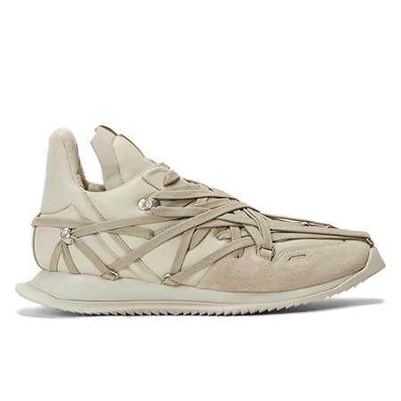 Rick Owens(リックオウエンス)Maximal Runner Sneakers in Grey