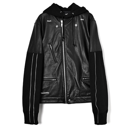 UNDERCOVER(アンダーカバー)RIDERS HOODED BLOUSON/BLACK