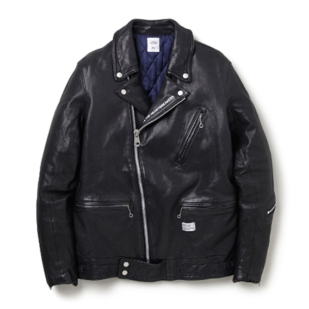 "BEDWIN & THE HEARTBREAKERS(ベドウィンアンドザハートブレイカーズ) DOUBLE RIDERS JACKET FADED ""BUSHER"""