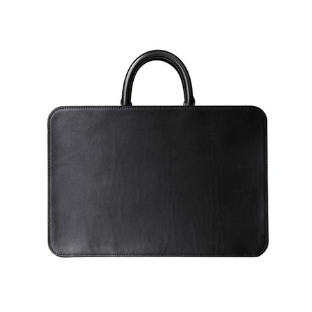 土屋鞄製造所(ツチヤカバンセイゾウジョ) ブラックヌメ スクエアバッグ
