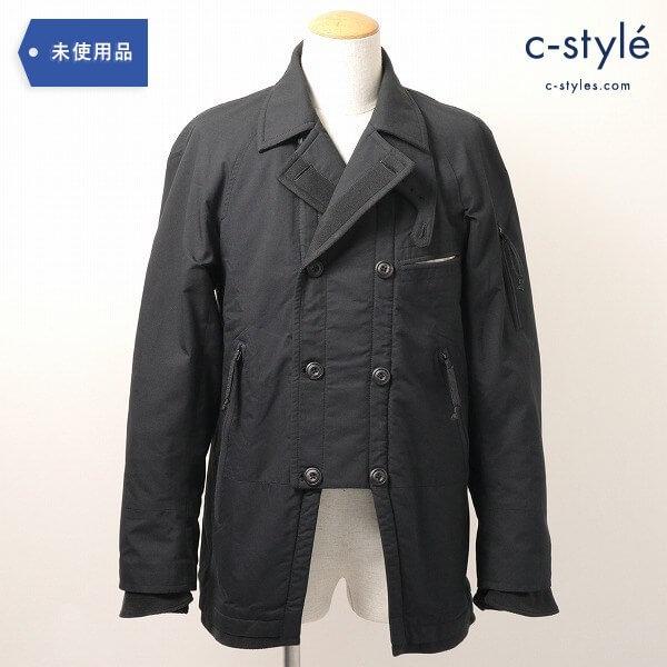 Eesett&Co(イイセットアンドコー)NOVELIST COAT コート ブルゾン size36 黒 タグ付き アウター