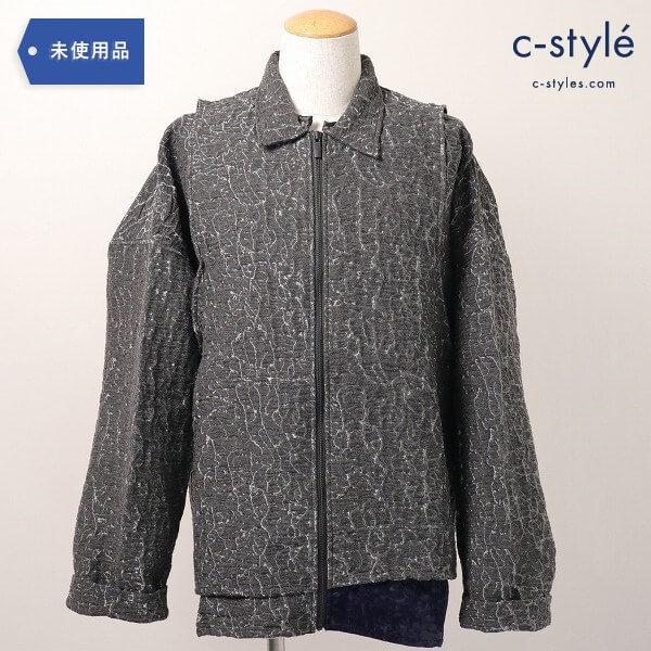 COTTWEILER(コットワイラー)textured shirt jacketシャツ ジャケット M タグ付き アウター