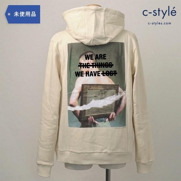 DUST(ダスト)back print hoodieバックプリント パーカ Style G Lost タグ付き M トップス