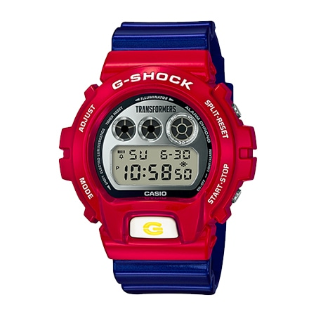 G-SHOCK(Gショック) アニメコラボ TRANSFORMERS MASTER OPTIMUS PRIME RESONANT MODE [With G-SHOCK] DW-6900TF-SET
