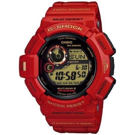 G-SHOCK(Gショック) マッドマン GW-9330A-4JR 30周年記念限定モデル Rising RED