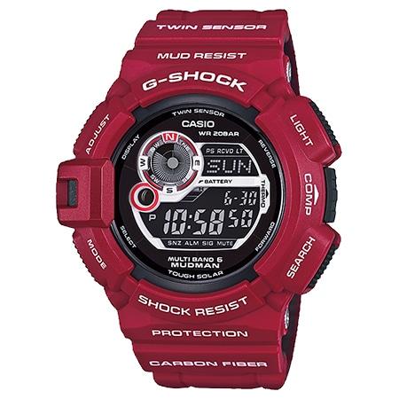 G-SHOCK(Gショック) マッドマン GW-9300RD-4JF メン・イン・レスキュー・レッド
