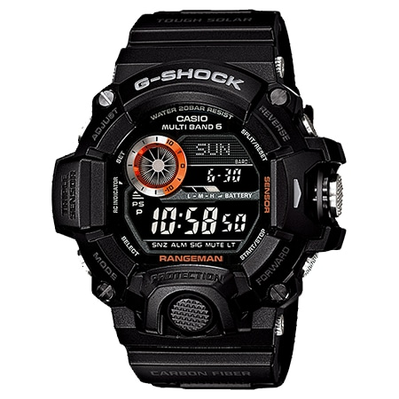G-SHOCK(Gショック) レンジマン GW-9400BJ-1JF ブラック×オレンジ