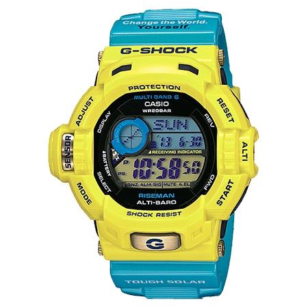 G-SHOCK(Gショック) ライズマン GW-9201KJ-9JR イエロー×ブルー アイサーチ・ジャパン