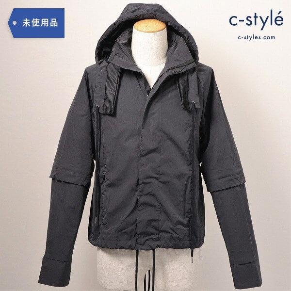 COTTWEILER(コットワイラー)Drawstring Detail Hooded Jacketジャケット フード袖着脱 タグ付き