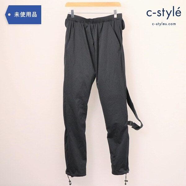 COTTWEILER(コットワイラー)Track Pants Blackトラック パンツ ブラック M 飾りベルト タグ付き