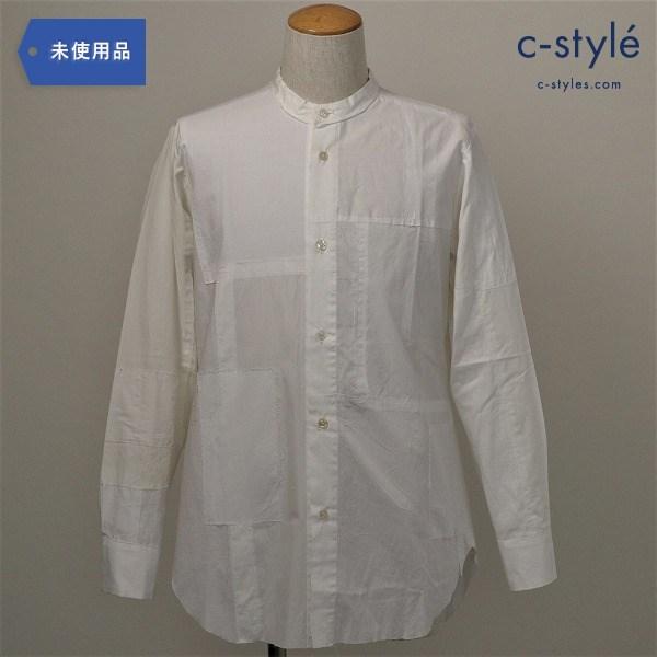proposition(プロポジション)一点物 1900'sコットン再構築 スタンドカラー シャツ パッチワーク