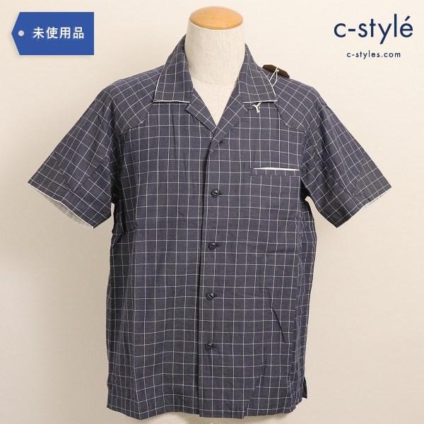 Eesett&Co(イイセットアンドコー)OPEN COLLAR SHIRT (MURPHY) オープン カラーシャツ 半袖