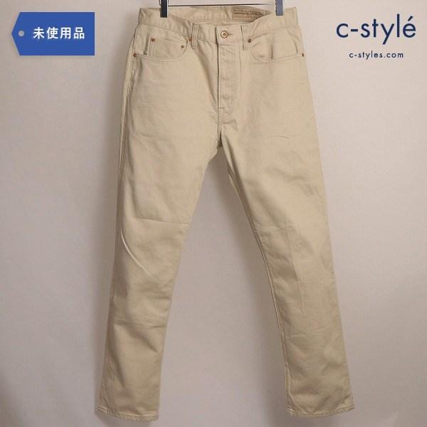 BONCOURA ボンクラ Bedford Cord 5-Pocket Pants ピケ パンツ スリム 34インチ