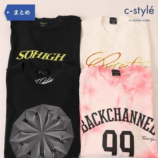 BackChannel バックチャンネル Tシャツ 4点 Mサイズ ロゴ プリント タイダイ