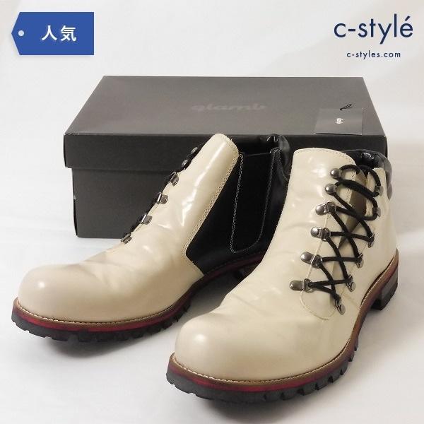glamb グラム Shaldon boots シャルドン ブーツ WHITE size4 GB12SM/AC32