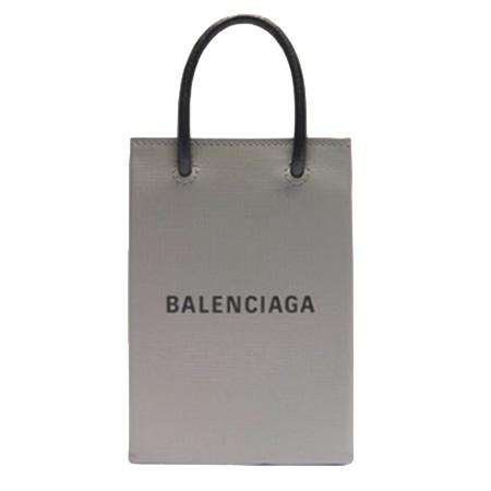 BALENCIAGA(バレンシアガ) ショッピング フォンホルダーバッグ anthracite / black