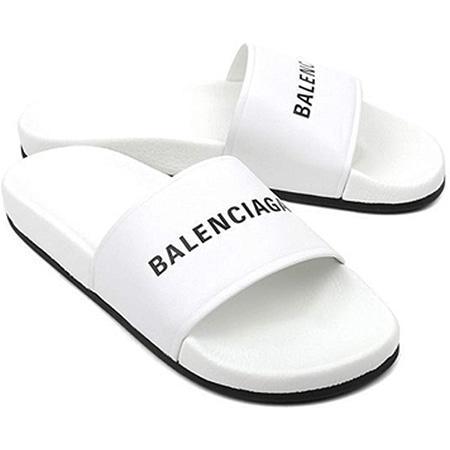 BALENCIAGA(バレンシアガ) フラットサンダル シャワーサンダル ホワイト506347 WAL00 9061