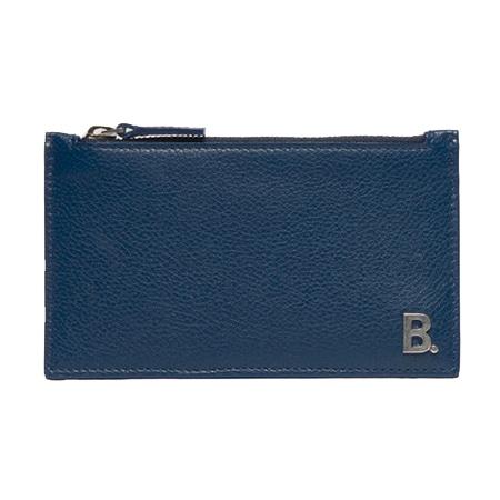 BALENCIAGA(バレンシアガ) B ロングコイン& カードホルダー マリン