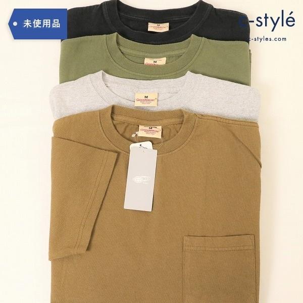 Goodwear ポケットTシャツMサイズ4点 ヘビーウェイト USA アメリカ製 BEAMS グッドウェア