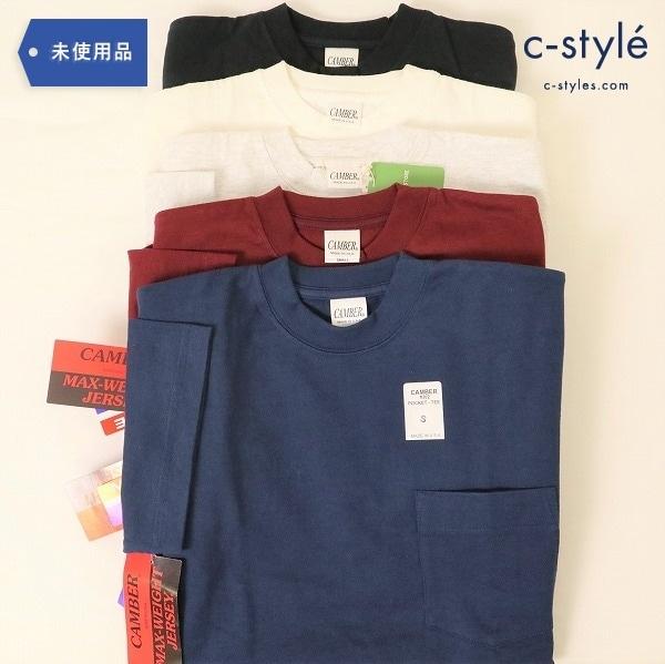CAMBER ポケットTシャツ Sサイズ 302 マックスウェイト 8オンス USA製 ヘビー 厚手