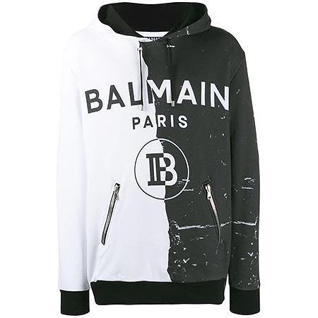 BALMAIN(バルマン) パネルロゴパーカー