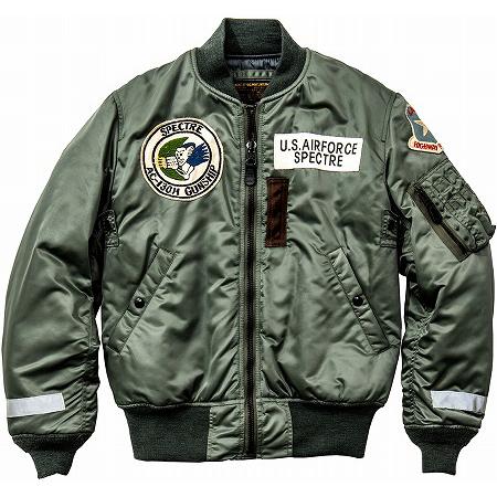 The REAL McCOY'S(リアルマッコイズ) MA-1 LAOSIAN HIGHWAY PATROL フライトジャケット