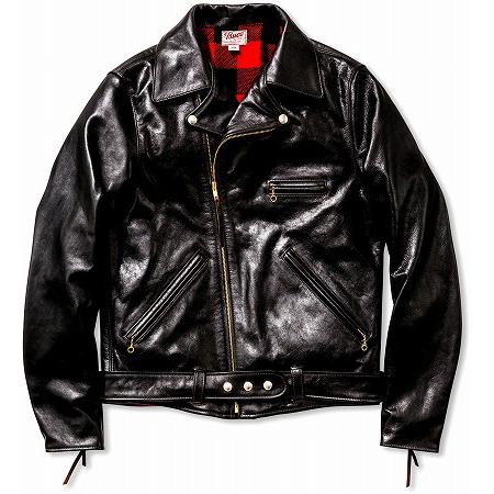 BUCO(ブコ) レザー ライダースジャケット JH-1 ブラック