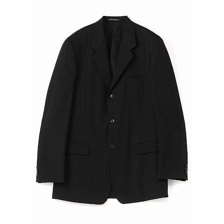 Yohji Yamamoto COSTUME D HOMME(ヨウジヤマモト コスチュームドオム) ウールギャバジン 三つ釦シングルジャケット