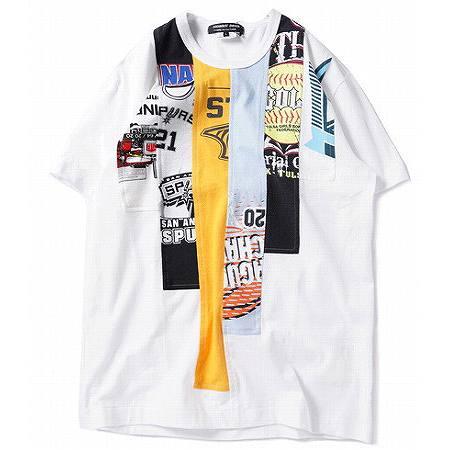 COMME des GARCONS HOMME DEUX(コムデギャルソン オムドゥ) 再構築 Tシャツ