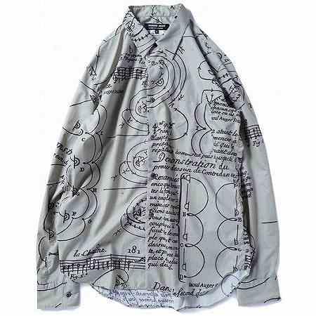 COMME des GARCONS HOMME DEUX(コムデギャルソン オムドゥ)プリントシャツ