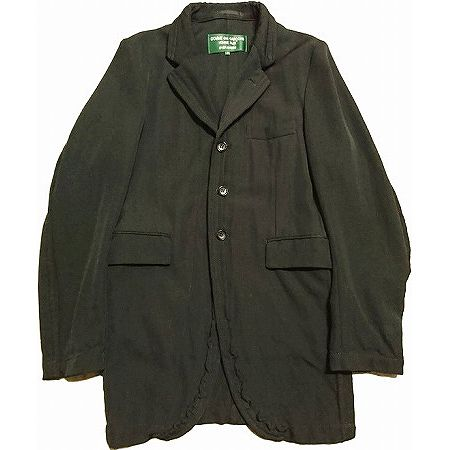 COMME des GARCONS HOMME PLUS EVER GREEN(コムデギャルソン オムプリュス エバーグリーン) シームジャケット