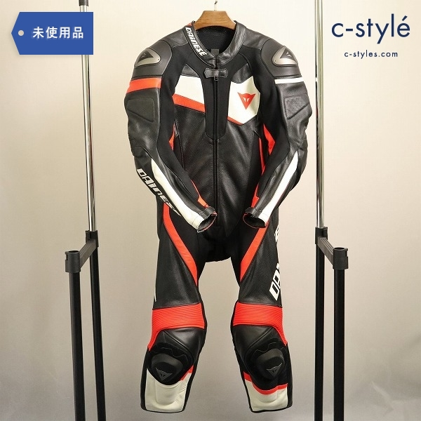 Dainese ダイネーゼ VELOSTER 1PC PERF SUIT size48 レザー レーシング スーツ W82-86 T172-175