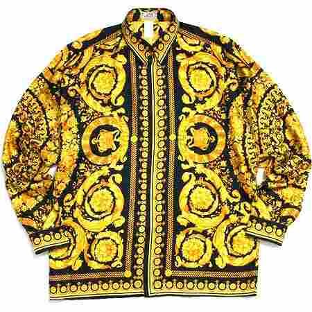 GIANNI VERSACE(ジャンニヴェルサーチ) シルクシャツ