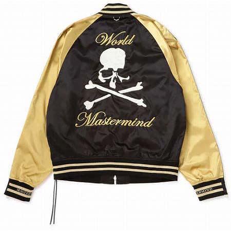 MASTERMIND WORLD(マスターマインド ワールド) ナイロン スカル ボンバージャケット