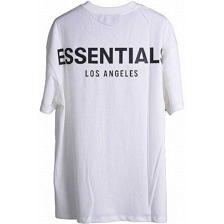 FOG ESSENTIALS(エフオージーエッセンシャルズ) リフレクタープリント クルーネック 半袖 プリントTシャツ