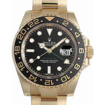 ROLEX(ロレックス) GMTマスターII Ref.116718LN ブラック