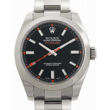 ROLEX(ロレックス) ミルガウス Ref.116400 ブラックダイヤル
