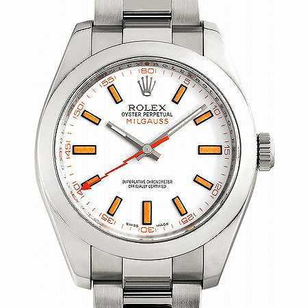 ROLEX(ロレックス) ミルガウス Ref.116400 ホワイトダイヤル
