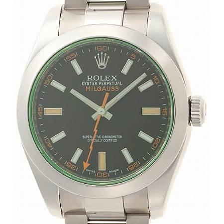 ROLEX(ロレックス) ミルガウス 116400GV グリーンガラス