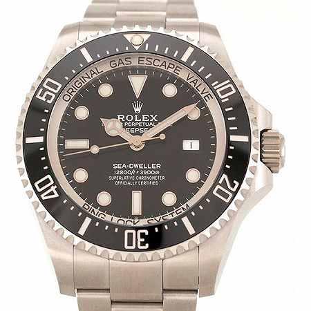 ROLEX(ロレックス) シードゥエラー ディープシー 126660 ブラック AT