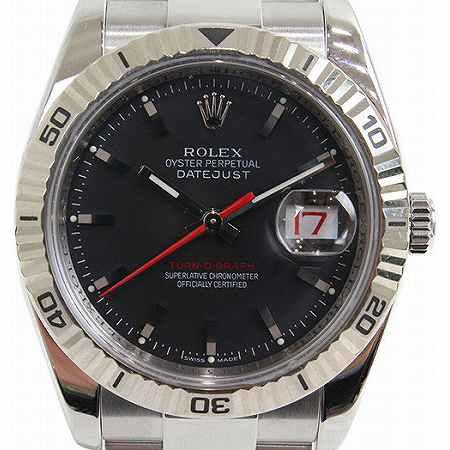 ROLEX(ロレックス) ターノグラフ 116264 ブラックダイヤル