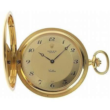 ROLEX(ロレックス) チェリーニ 手巻き 懐中時計 K18YG 110.0g